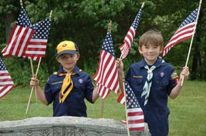 Cub Scouts - Flag Day
